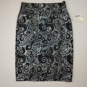 LuLaRoe Cassie Pencil Skirt Elegant Collection NWT